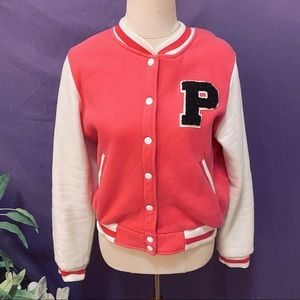 P is for Pinup Letterman Jacket